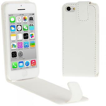 Protective case for Apple iPhone 5 C white + foil