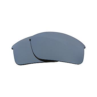 New SEEK Polarized Replacement Lenses for Oakley BOTTLE ROCKET Silver Mirror