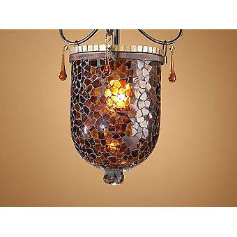 Schuller Small Brown-Gold Glass (Home , Lighting , Lampshades)
