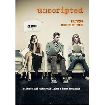 Unscripted [DVD] USA importerer