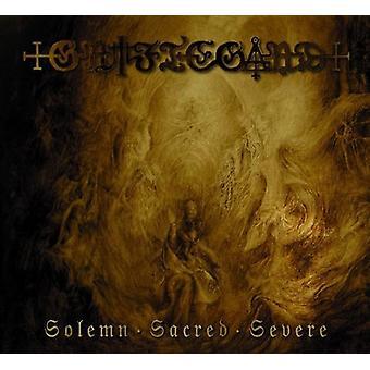Griftegard - Solemn Sacred Severe [CD] USA import