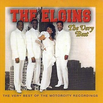 Elgins - Very Best [CD] USA import