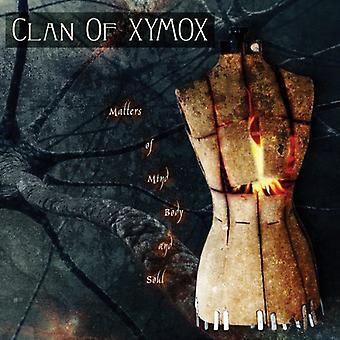 Clan of Xymox - importer des questions d'esprit corps & Soul [CD] é.-u.