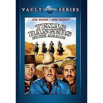 Texas Rangers Fahrt wieder [DVD] USA import