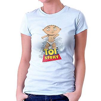 Bebé camiseta para poder Stewie Tot historia mujeres