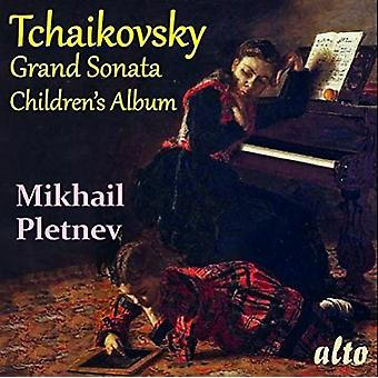 Tchaikovsky / Pletnev, Mikhail - Grand Sonata in G Major & Children's Album [CD] USA import