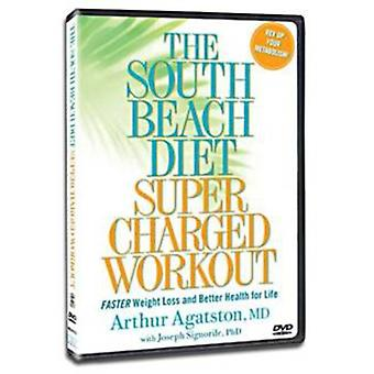 South Beach Diet Supercharged Workout [DVD] USA import