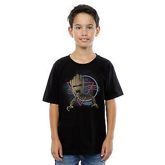Wonder Boys hoeders van de Galaxy Neon Groot T-Shirt