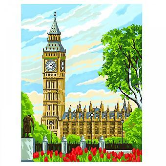 KSG Big Ben peinture par numéros