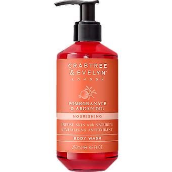 Crabtree & Evelyn Pomegranate & Argan Oil Body Wash