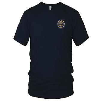 US Navy USS Sierra AD-18 Destroyer Tender Ship Embroidered Patch - Kids T Shirt