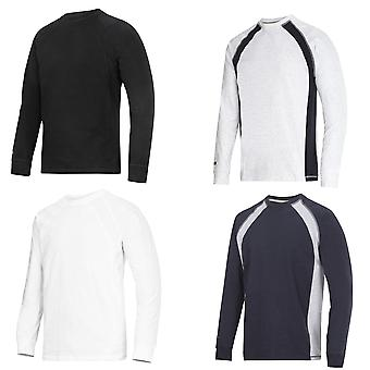 Snickers Long Sleeve T Shirt (Combed Cotton) UK SUPPLIER - 2402