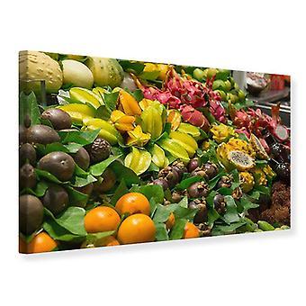 Canvas Print Fruits