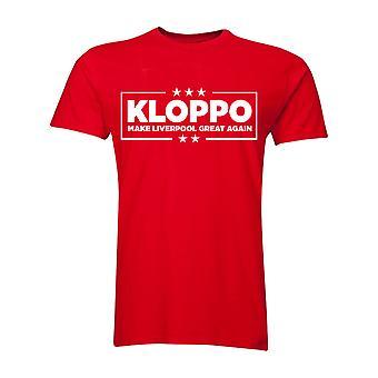 Jurgen Klopp Make Liverpool Great Again T-Shirt (Red)