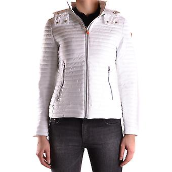 Save the duck women's MCBI269044O white polyamide Quilted Jacket