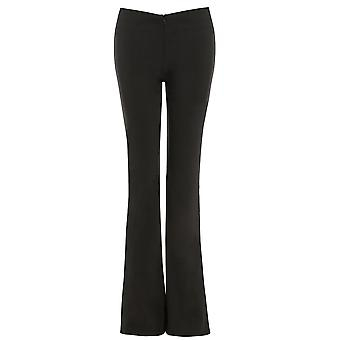 Young Girls Stretchy Flaired School Trousers