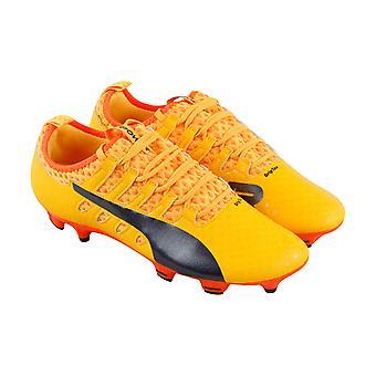 Puma EvoPower Vigor 2 Grafik FG Herren Orange Athletic Fußball Cleats Schuhe