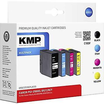 KMP Ink replaced Canon PGI-2500XL Compatible Set B
