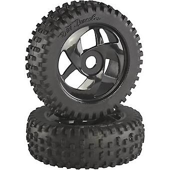 Absima 1:8 Buggy Wheels Block Spike Twister