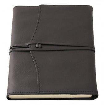 Coles Pen Company Amalfi Large Lined Refillable Journal - Black