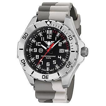 KHS relojes para hombre reloj de acero líder KHS. REDES DE ÁREA LOCAL. DC5