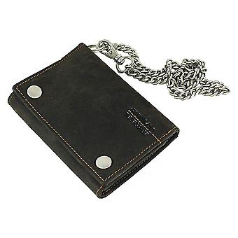 GREEN country of biker wallet chain Westcoast 872-25