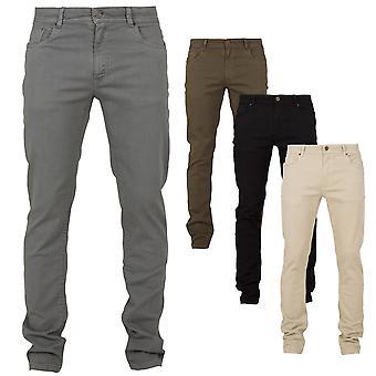 Urban classics - basic Stretch Twill 5 Pocket pants