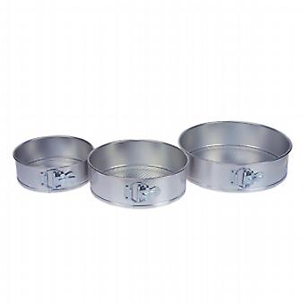 Swift Boxed Set of 3 Tinplate Springform Cake Tins