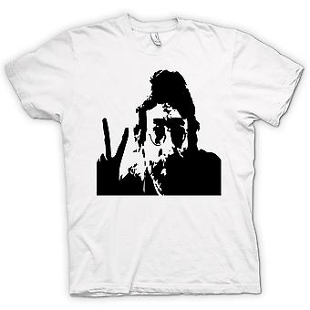 Womens T-shirt - John Lennon - Anti War