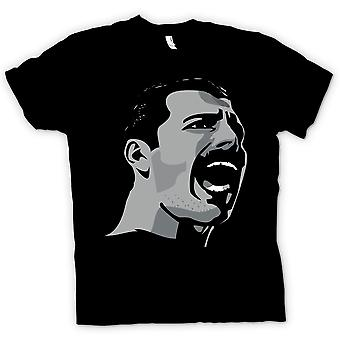 Kinder T-shirt-Freddie Mercury Pop-Art Portrait