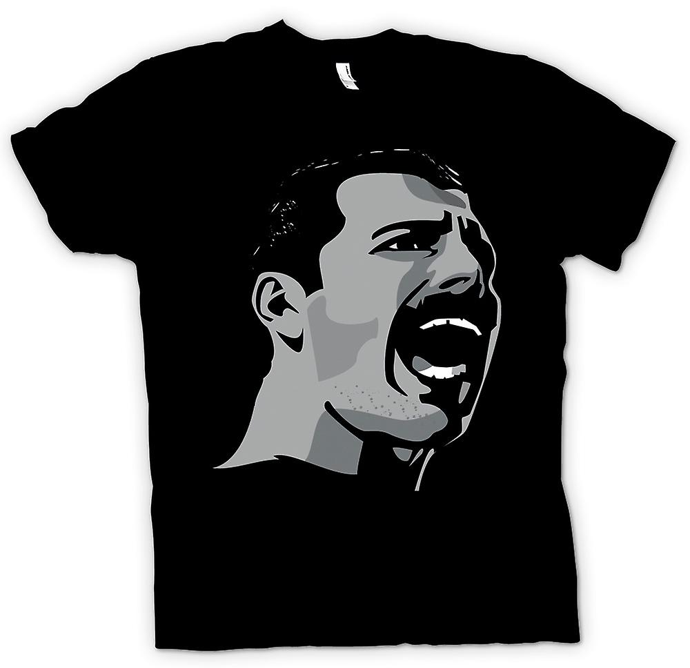 Mens T-shirt - Freddie Mercury Pop Art Portrait