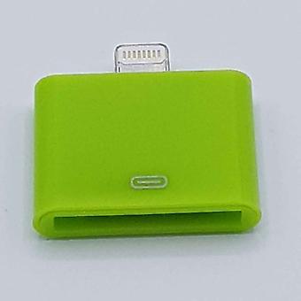 30 pin 8 Pin adapteri-Ipad/iPhone-vihreä