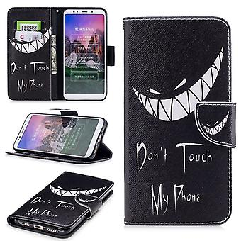For Huawei P20 pocket book motif 40 artificial leather protection sleeve case cover pouch new