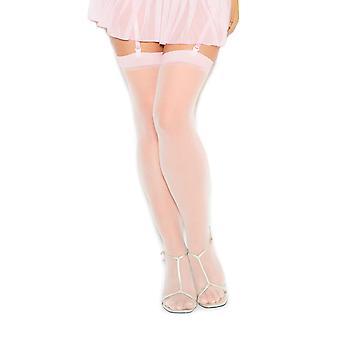 Plus Size Lingerie Sexy cuisse Sheer Stocking haute - Fits taille 14-18