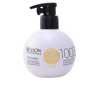 Revlon Nutri Color Creme #1003-Golden Blonde 270 Ml Unisex