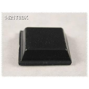 Hammond Electronics 1421T8BK Foot self-adhesive, circular Black (Ø x H) 12.1 mm x 3.1 mm 24 pc(s)