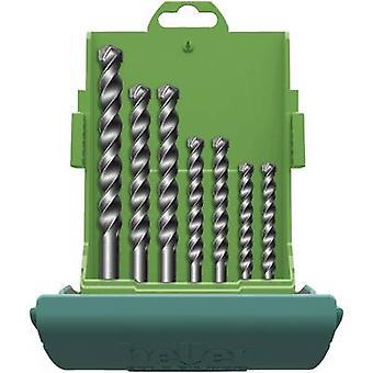 Broca de metal taladro carburo set 7 piezas 4 mm, 5 mm, 6 mm, 8 mm, 10 m