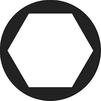 TOOLCRAFT 828796 Hexagonal nuts M1.4 DIN 934 Steel zinc plated 20 pc(s)