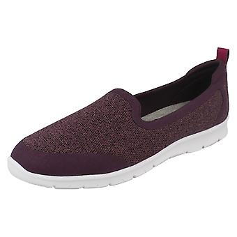 Ladies Clarks Slip On Sporty Loafers Step Allena Lo