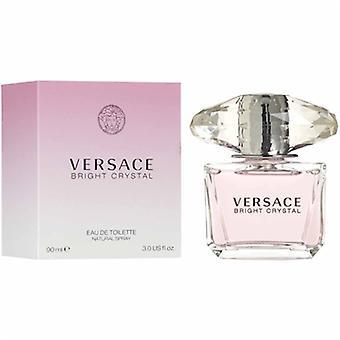 Cristallo brillante da Gianni Versace per donne 3,0 oz Eau De Toilette Spray