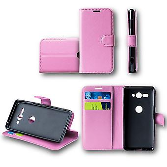 For Huawei mate 20 Pro bag wallet premium pink Schutz sleeve case cover pouch new accessories