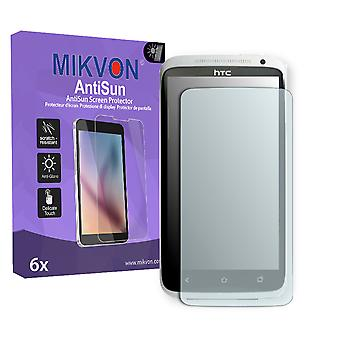 HTC X325E Screen Protector - Mikvon AntiSun (Retail Package with accessories) (reduced foil)