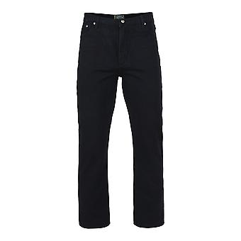Kam Jeanswear noir Jeans Regular Fit