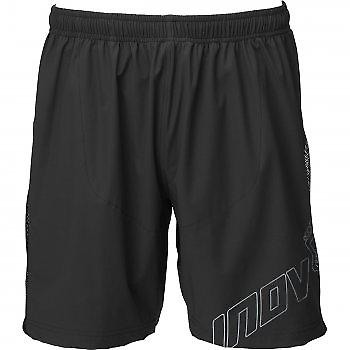 Race Elite 210 Trail Short Zwart / Grijs Heren