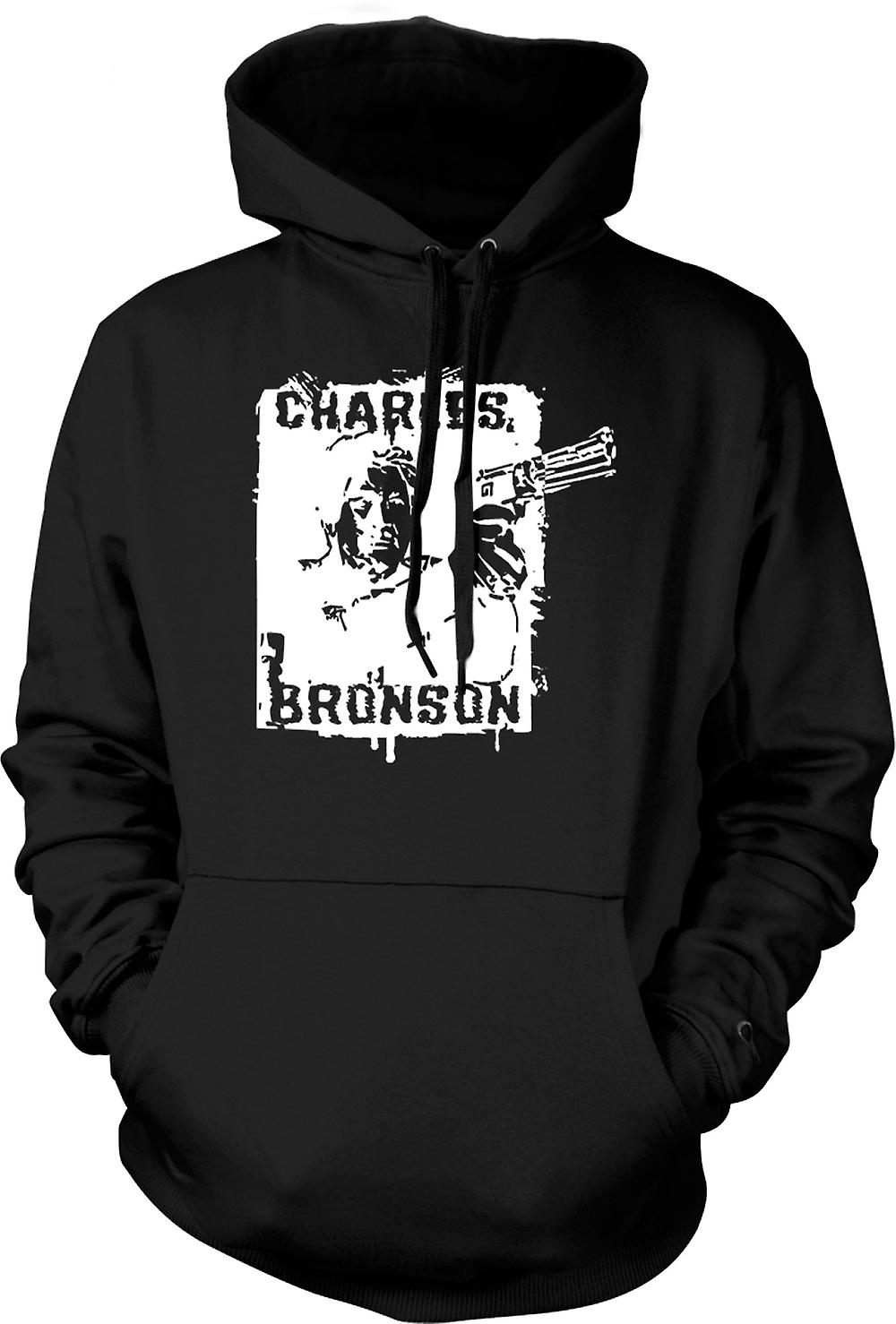 Mens Hoodie - Bronson - Death Wish Vigilante - Film