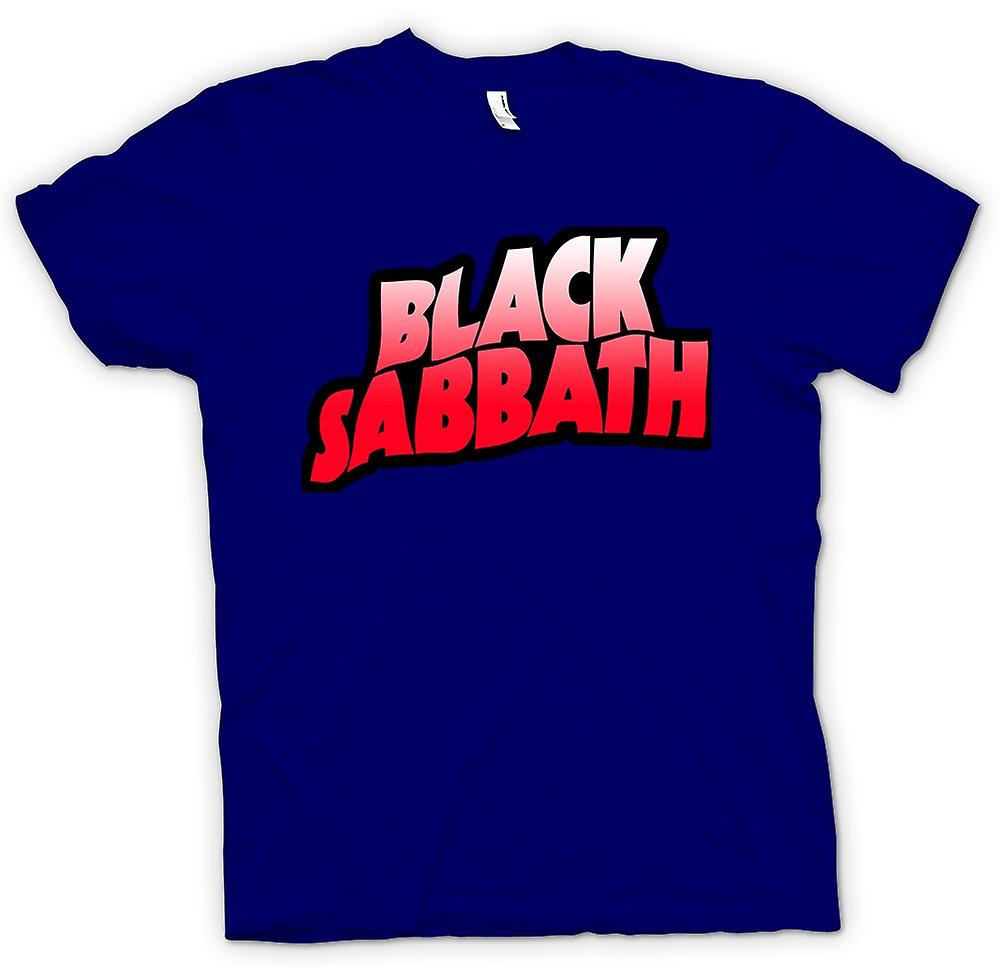 Mens T-shirt - Sabbat - Heavy-Metal-Logo