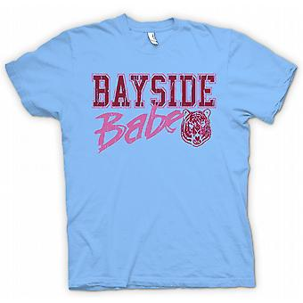 Mens T-shirt - Bayside Babe - Bayside Tigers - Funny