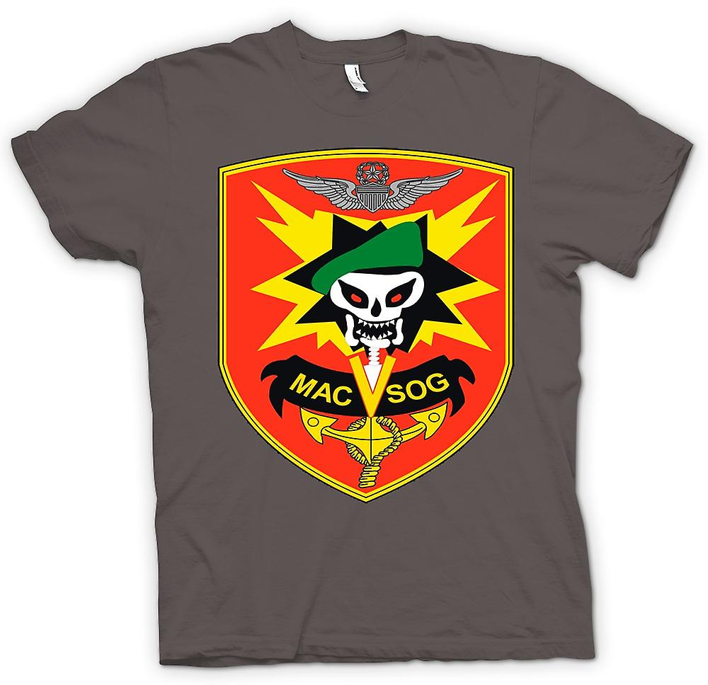 Womens T-shirt-MACV-SOG Special Forces Badge