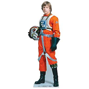 Luke Skywalker Star Wars Lifesize papp åpning / Standee (Mark Hamill)