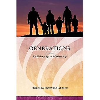 Générations: Repenser l'âge et la citoyenneté (série dans Citizenship Studies)